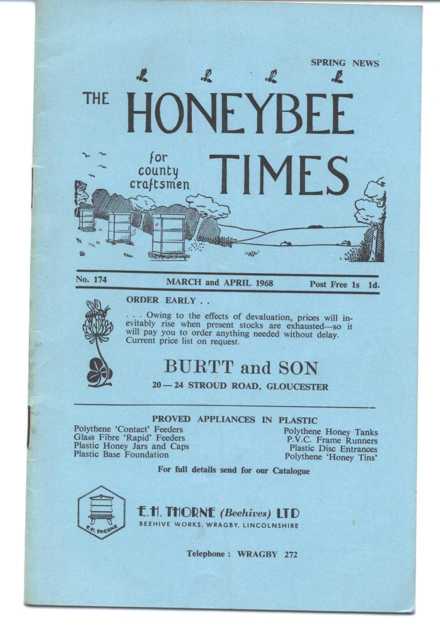 Honey bee Times 1968